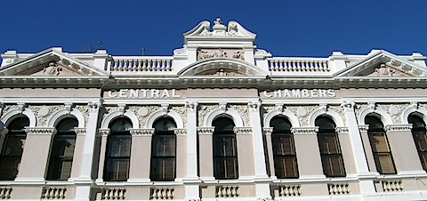 High Street,  Fremantle. The world's finest example of gold rush architecture. © Roger Garwood 2013